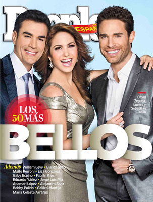 People En Espanol's 50 Most Beautiful 2013 Cover.  (PRNewsFoto/People en Espanol)