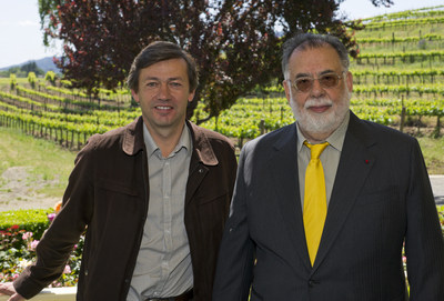 Philippe Bascaules and Francis Ford Coppola