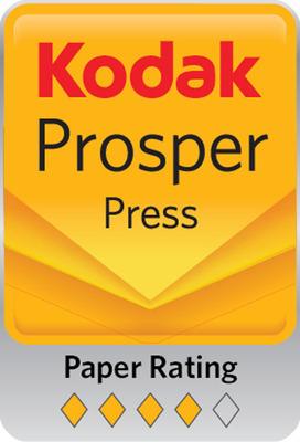NewPage Introduces TrueJet Book with Kodak's 4 Diamond Rating for use on the Kodak Prosper(TM) press.  (PRNewsFoto/NewPage)