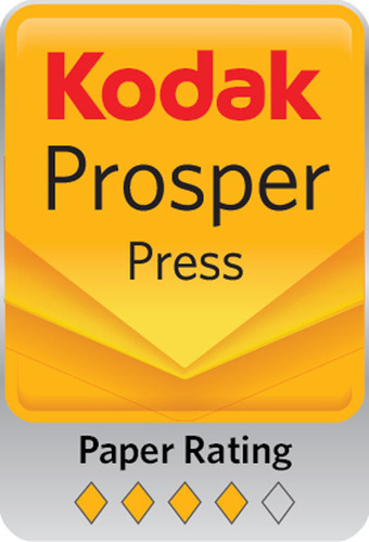NewPage Introduces TrueJet Book with Kodak's 4 Diamond Rating for use on the Kodak Prosper(TM) press.  (PRNewsFoto/NewPage)