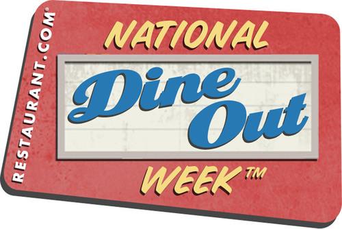 Restaurant.com Presents National Dine Out Week.  (PRNewsFoto/Restaurant.com)