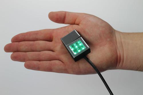 The latest innovation of biometrics expert DERMALOG: the world's smallest optical fingerprint scanner ...
