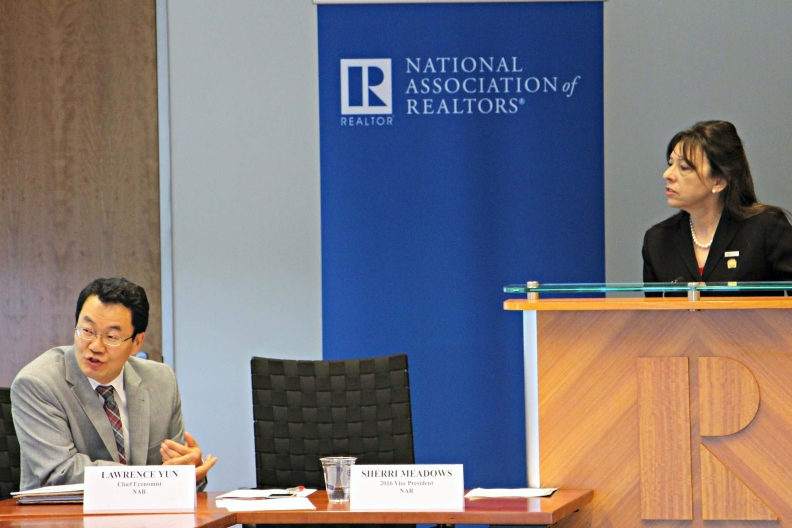 National Association of Realtors, Chief Economist Lawrence Yun & Vice President Sherri Meadows