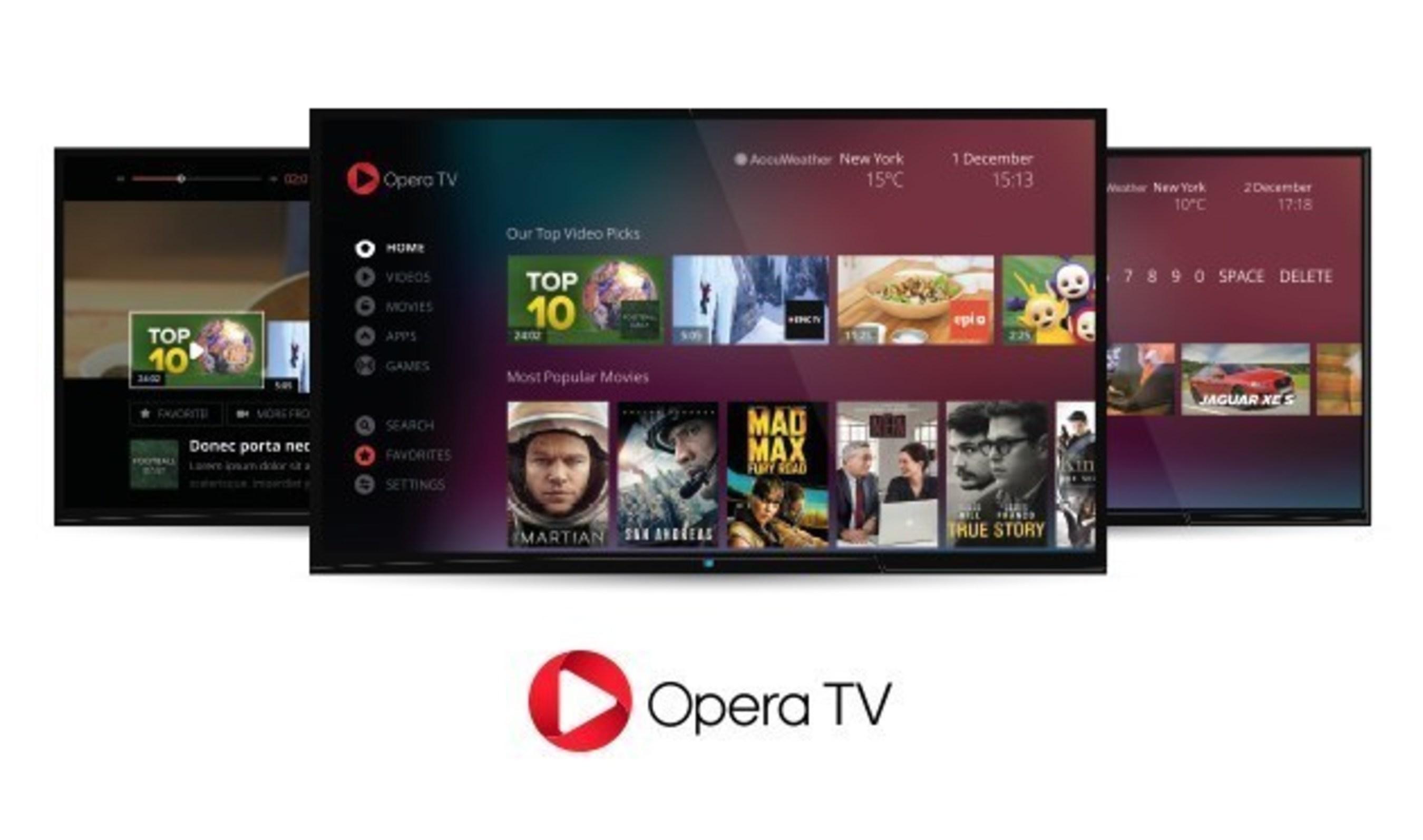 New Opera TV 2.0 debuts at CES 2016
