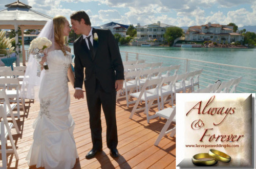 Gazebo Wedding In Las Vegas.  (PRNewsFoto/Always & Forever Weddings and Receptions)