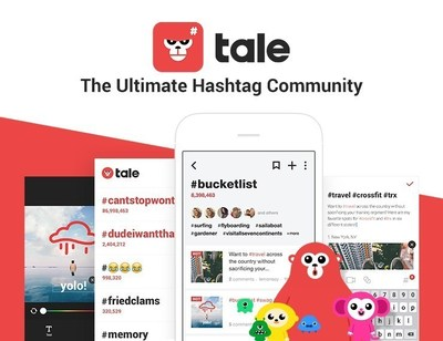 LINE Launches Tale, #TheUltimateHashtagCommunity App Focused on Engaging and Unique Content
