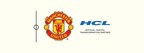 Logo (PRNewsFoto/HCL and Manchester United)