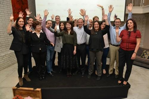 GIA 2016 - strategic partners: Top Israeli venture capital firm JVP and Shengjing group, in partnership with Microsoft Ventures, EMC, Poalim Hi-Tech, EY Israel, Herzog Fox & Neeman (HFN), Nautilus by AOL and PR Newswire. (PRNewsFoto/Jerusalem Venture Partners) (PRNewsFoto/Jerusalem Venture Partners)