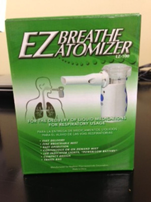 EZ Breathe(TM) Atomizers Model #100. (PRNewsFoto/Nephron Pharmaceuticals Corporation)