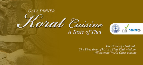 Thai Ministry of Industry Holds 'Gala Dinner KORAT Cuisine' A Taste of Thai to Raise the Stature of