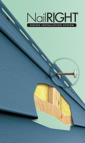 Norandex Introduces Proprietary Nailright Siding Installation System Saving