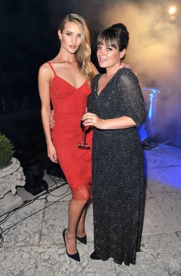 Emmanuelle Pirro and wife Marlene PirroMARTINI© CELEBRATES 150 YEARS OF ITALIAN STYLE AT GLITTERING ANNIVERSARY GALA IN LAKE COMO, ITALY