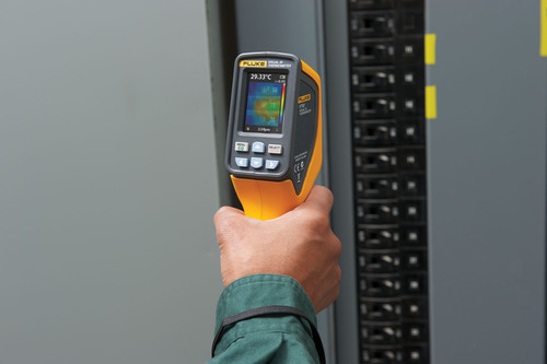 "The Fluke VT02 Visual Infrared Thermometer is a troubleshooting camera with an infrared heat map. Until now, electricians and industrial, HVAC, and automotive technicians have had to choose between single-point infrared thermometers and high-resolution thermal imagers (infrared or ""IR"" cameras). The Fluke VT02 Visual Infrared Thermometer fills the gap for when a single-spot temperature reading isn't enough and a high-resolution thermal image is more than users need. One tool combines the visual insight of a thermal imager, the ..."