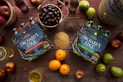 Angry Orchard's New Orchard's Edge Series features The Old Fashioned and Knotty Pear