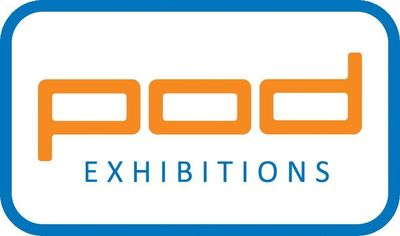 POD Exhibitions Logo (PRNewsFoto/POD Exhibitions)