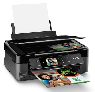 The ultra-compact Expression(R) Home XP-430 Small-in-One is designed to meet the printing, scanning, and copying needs of busy students, families, and individuals. Designed as a complete wireless solution, the XP-430 features Wi-Fi CERTIFIED(TM) n and Wi-Fi Direct(TM), as well as Epson Connect(TM) support to print and scan from a tablet, smartphone or computer from virtually anywhere.