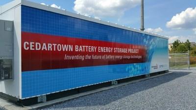 Cedartown battery energy storage project