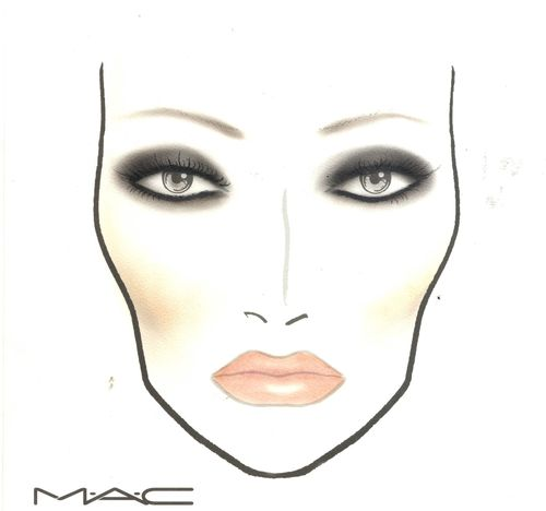 Caroline Flack (PRNewsFoto/MAC Cosmetics)