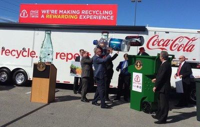 Red Moon Marketing and Coca-Cola Kick Off Coca-Cola Recycle & Win in Wilmington, NC