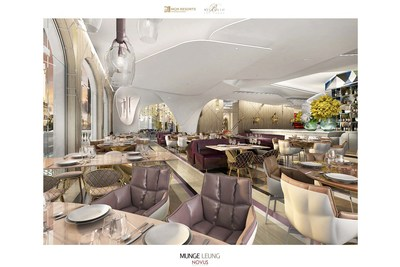 Lago by Julian Serrano's Main Dining Room at Bellagio Resort & Casino.