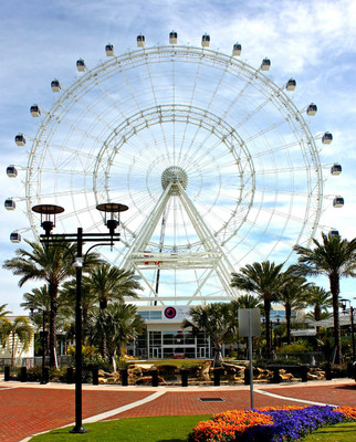 At the center of I-Drive 360, the Orlando Eye offers breathtaking views of Central Florida.