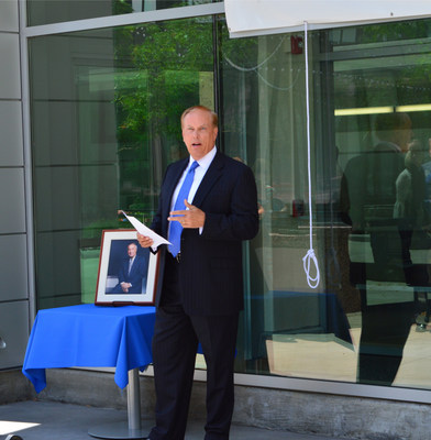 Paul Greig, FirstMerit chairman, president and CEO Dedicates Clifford J. Isroff Building in Downtown Akron