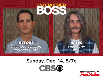 """True Value Company President and CEO John Hartmann goes undercover as """"Louis Lapresi"""""""