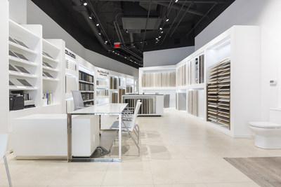 porcelanosa opens new tile kitchen bath showroom in