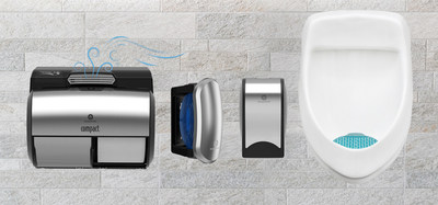 The new GP PRO ActiveAire system is a complete suite of air care products to tackle one of the top public restroom complaints -- odor. A consistent fresh scent throughout the room.
