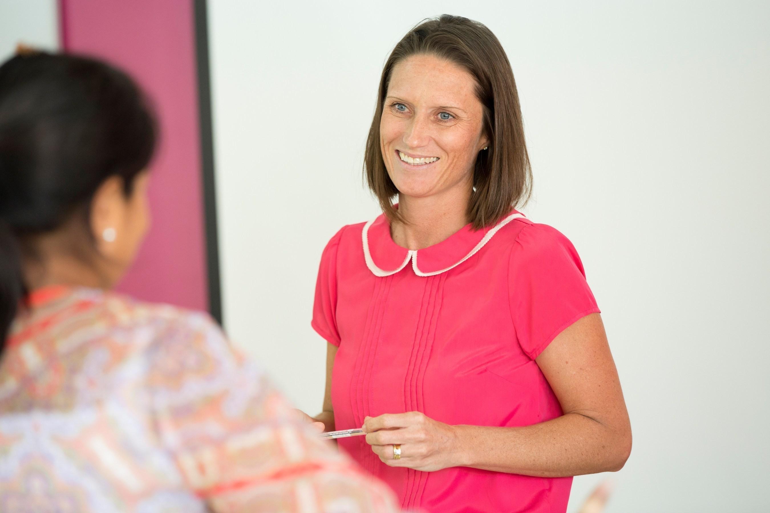 Teachers at a Nord Anglia Education school