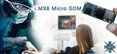 eSOMiMX6-micro - i.MX6 Micro System-On-Module (PRNewsFoto/e-con Systems)