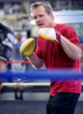 """JAGERMEISTER AND WORLD-RENOWNED BOXING TRAINER,  FREDDIE ROACH, LAUNCH """"A BROTHER IN YOUR CORNER"""" COMPETITION. PHOTO CREDIT: SHANE RUSSECK"""