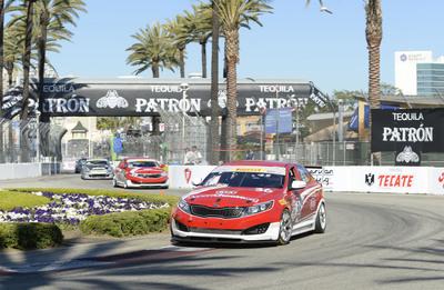 Kia Racing takes championship points lead into Barber Motorsports Park. (PRNewsFoto/Kia Motors America) (PRNewsFoto/KIA MOTORS AMERICA)
