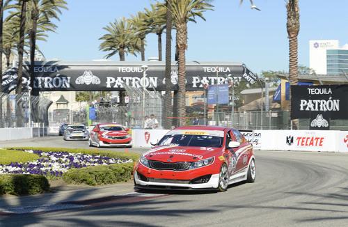Kia Racing takes championship points lead into Barber Motorsports Park. (PRNewsFoto/Kia Motors America) ...