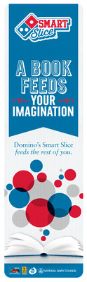 Domino's is celebrating National School Lunch Week by offering new educational bookmarks to students as part of the ever-growing Domino's Smart Slice school lunch pizza program. (PRNewsFoto/Domino's Pizza)
