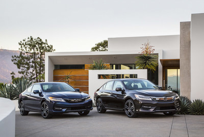 2016 Accord Raises its Game with Dynamic Styling, Chassis and Body Upgrades, Available Honda Sensing(TM), plus Apple CarPlay(R) and Android Auto(TM)