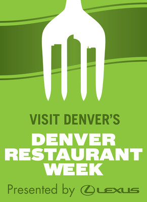 The 13th annual Denver Restaurant Week will take place February 24 - March 5, 2017. This year, menus start at their lowest price ever - ranging from $25 to $25 for a multi-course meal.