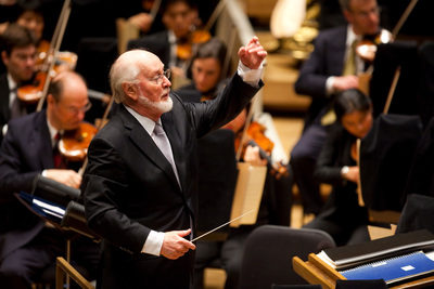 "Legendary composer and conductor John Williams will pay tribute to the 200th anniversary of our ""National Anthem"" on PBS' ""A CAPITOL FOURTH"" airing live from the West Lawn of the U.S. Capitol Friday, July 4 from 8:00 to 9:30 p.m. ET (PRNewsFoto/Capital Concerts)"