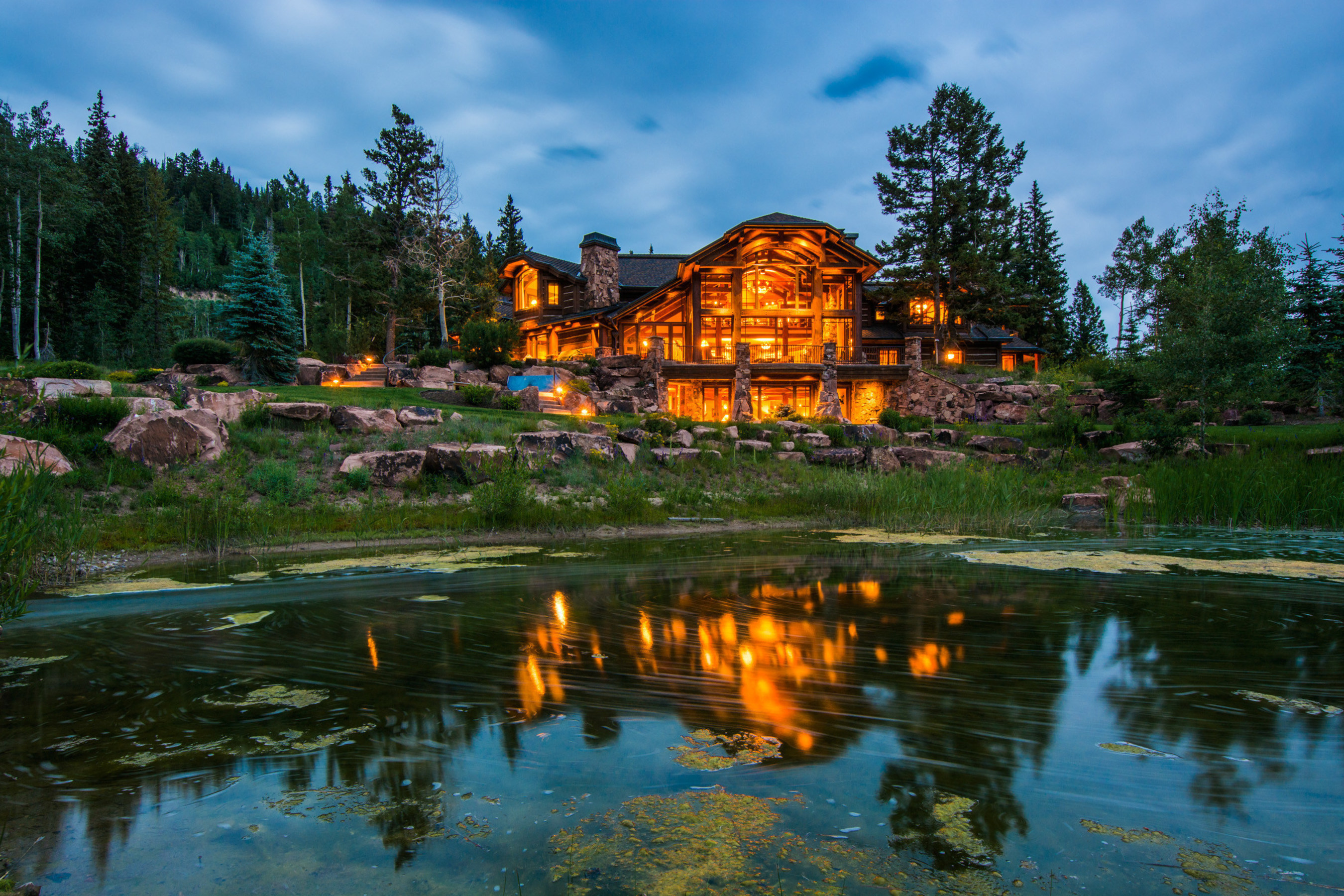 Auction Announced for Mountain-Top Estate in the World's Largest Ski-In/Ski-Out Community