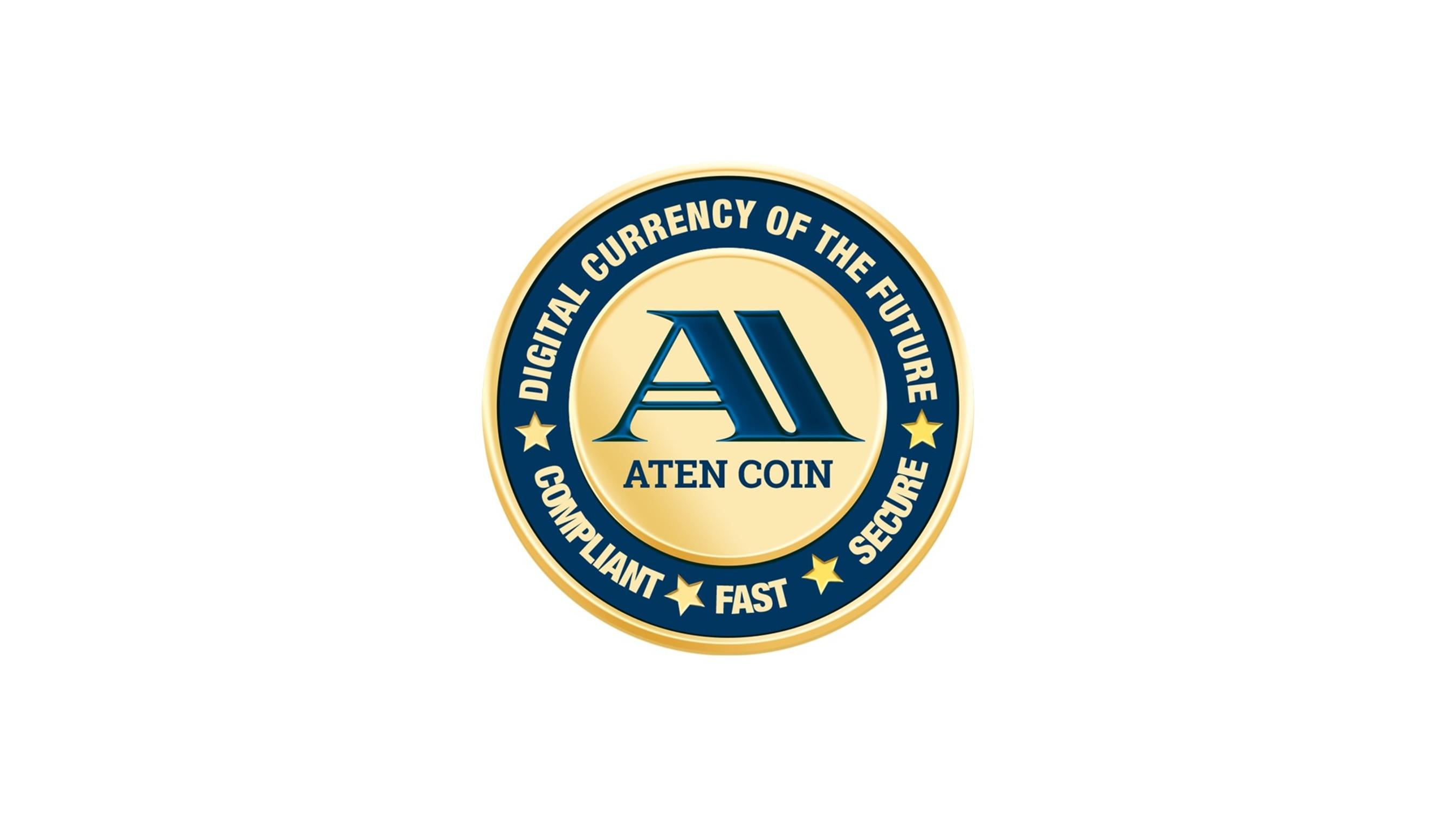 Aten Coin Logo.