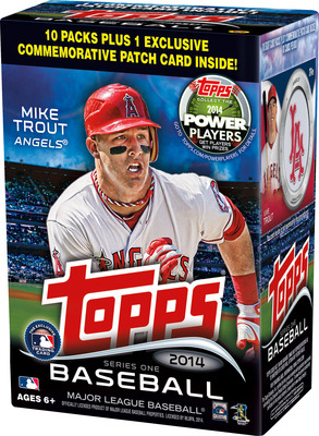 The Topps Company celebrates baseball with 2014 Topps Baseball Series 1 Cards (PRNewsFoto/The Topps Company, Inc.)