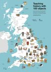 Teaching history with 100 objects, map resource showing objects from 40 museums across the UK. © The Trustees of the British Museum.
