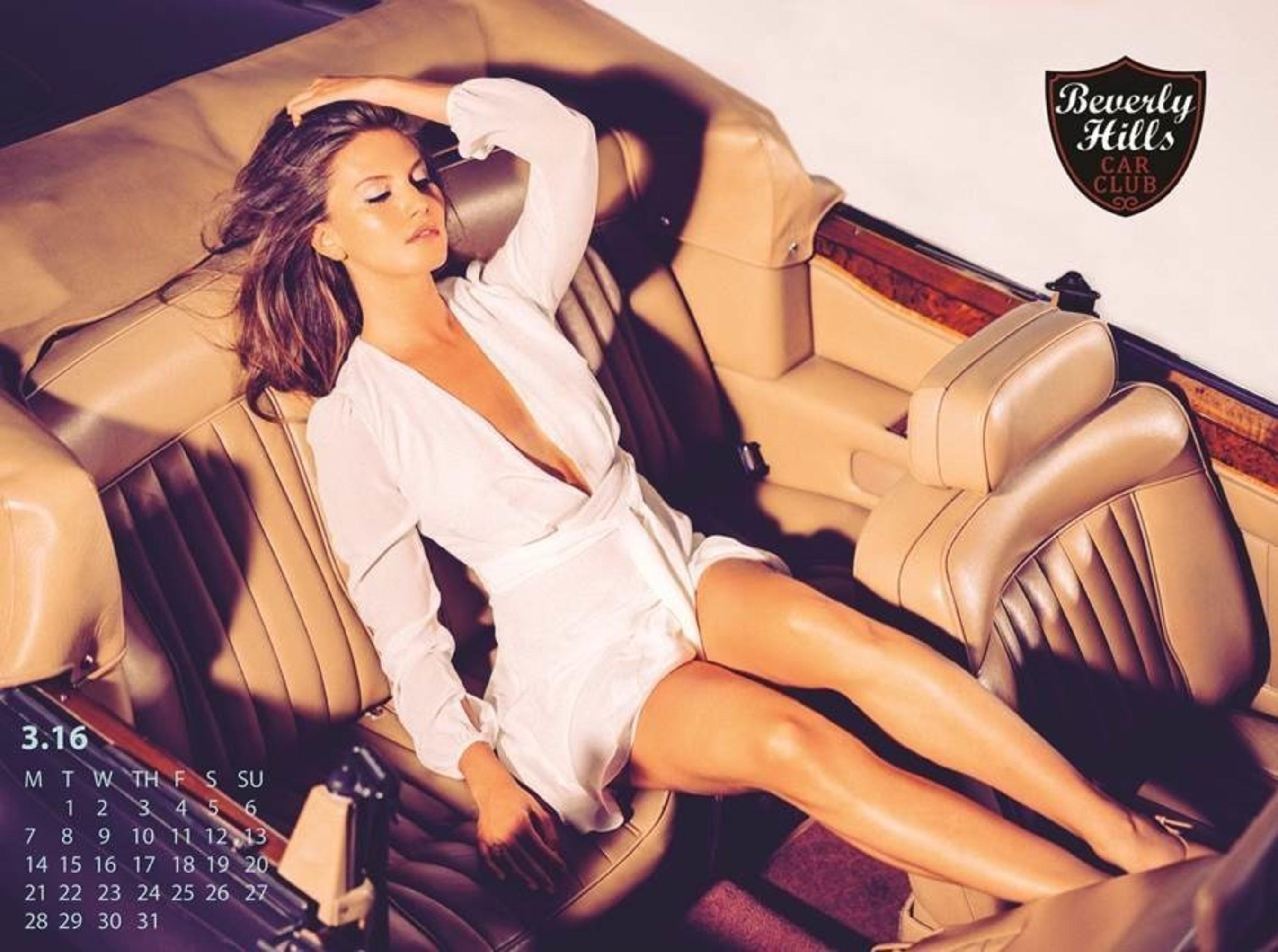 Beverly Hills Car Club March 2016 Calendar