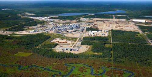 Cenovus's Foster Creek operation in northern Alberta which uses steam-assisted gravity drainage (SAGD) to produce oil (CNW Group/Cenovus Energy Inc.) (PRNewsFoto/Cenovus Energy Inc.)