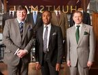 Peter Smith, General Manger, Roubi l'Roubi, Creative Director, Patrick Murphy Head Cutter of Savile Row Tailor Huntsman