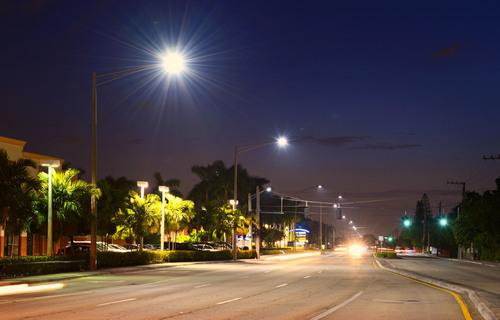 City of Pompano Beach Selects Evolucia's LED Cobra head Fixtures
