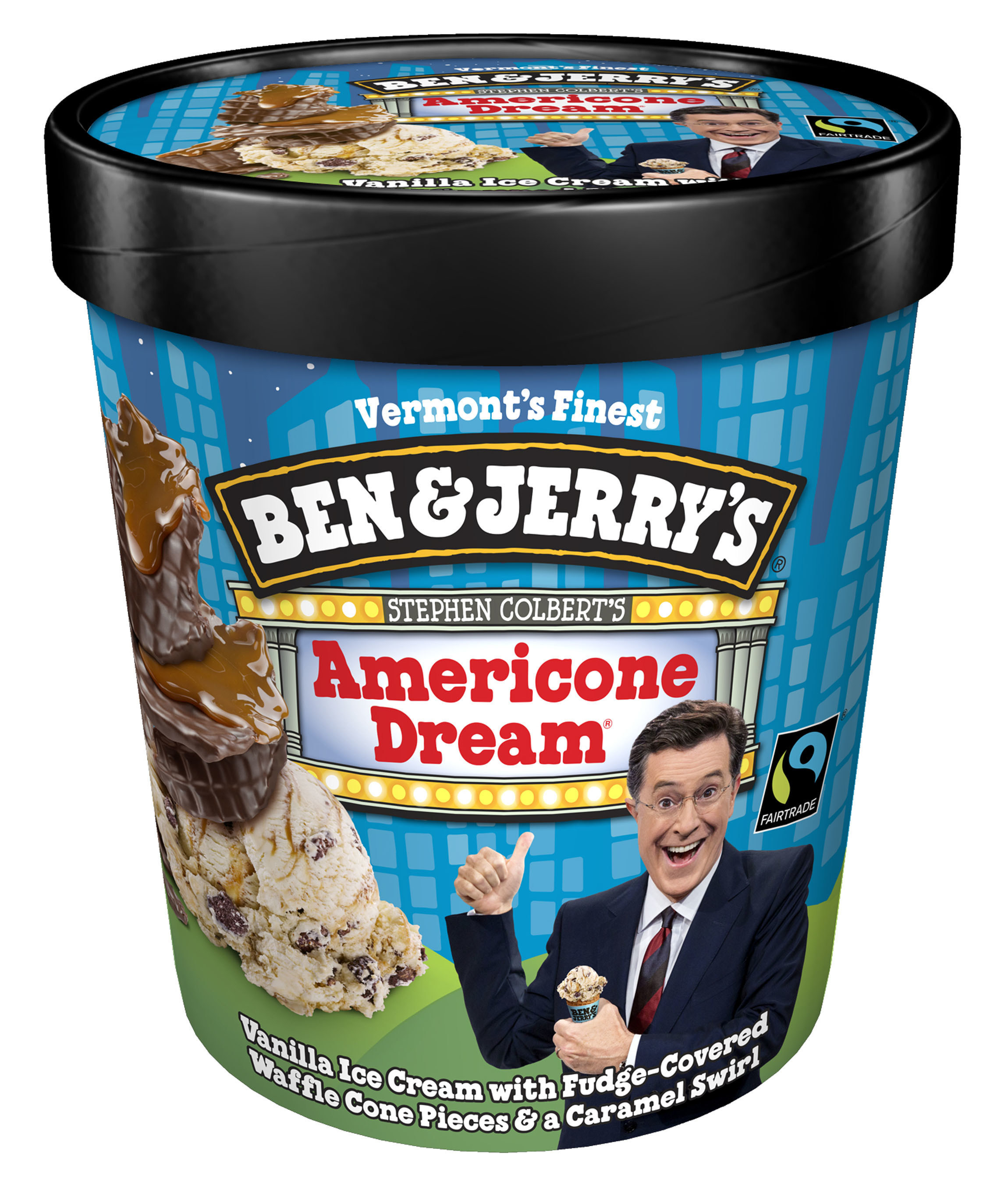 ben jerry s says happy birthday to cbs the late show with stephen