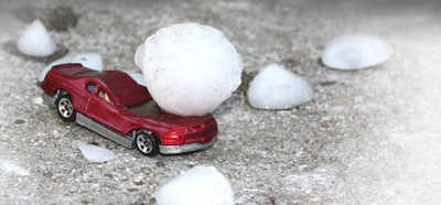 Toyota of Naperville has contracted with a leading hail damage repair company to perform paintless dent repair on vehicles damaged by storms.we (PRNewsFoto/Toyota of Naperville)