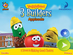 DreamWorks Animation Builds a Firm Foundation With the Launch of VeggieTales Appisode: 3 Builders - Available Exclusively On The App Store!