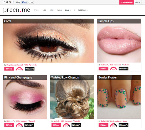 Preen.Me Global Beauty Platform Engages Viral Community of Artists With 1.6+ Million Facebook Fans;
